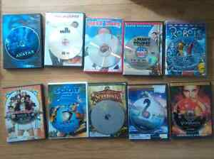 Various Movies for sale. 10 bucks each OBO