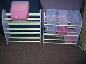Toys Storage Wooden Racks 2