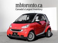 2011 Smart Fortwo Red /silver coupe (2 door)