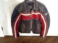 Ladies Joe Rocket Leather Motorcycle Jacket
