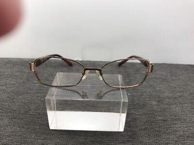 Authentic Vera Wang Eyeglasses 51-16-133 VO 73 Tortoise Brown Bronze C16