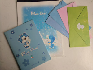 Asian Stationary- cartoon Blue Bear