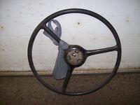 steering volant gmc chevrolet pick-up truck rat rod old school