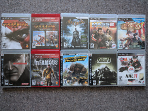Excellent jeux PS3 games