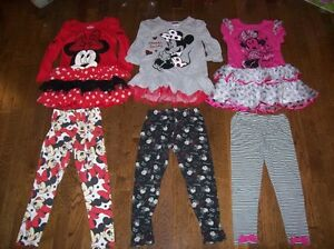 Minnie Mouse Sets, Size 6X