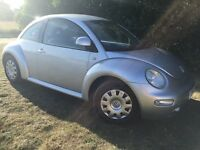 VW BEETLE - LONG MOT - 1.6L - LONG MOT - SERVICE HISTORY WITH RECEIPTS