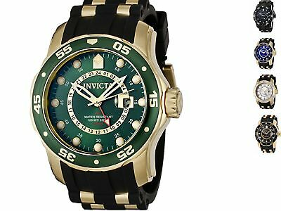 Mens Watches - Invicta Men's Pro Diver Black Polyurethane  and Stainless Steel Watch