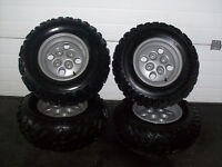 arctic cat 24'' 0em rims and tires