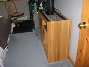 Cabinet with sliding doors, office or bedroom