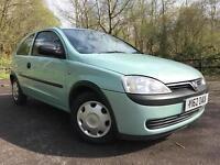 Vauxhall/Opel Corsa 1.2i 16v Club *12 MONTHS MOT*
