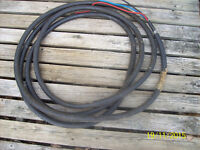 27 feet,  electrical armoured cable