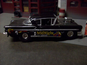 1958 Chev Impala Street Pro MIDNIGHT DEVIL in 1/45 (o) scale