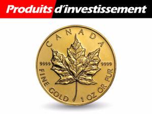 Produits d'investissement Or et Argent
