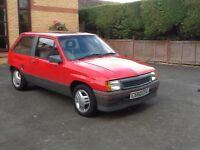Vauxhall Nova 1.3SR