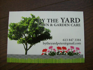 BY THE YARD, Lawn and Garden Care Belleville Belleville Area image 1