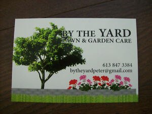 BY THE YARD, Lawn and Garden Care Belleville Belleville Area image 2