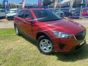 2013 Mazda CX-5 Maxx (4x2) Red 6 Speed Automatic Wagon