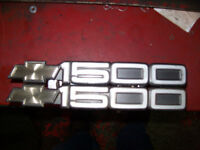 emblem / chrest / insigne chevy / chevrolet / pick-up 1500