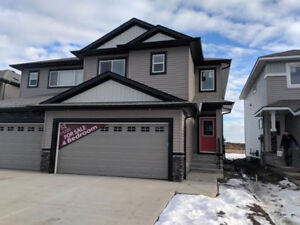 BRAND NEW - 4 BEDROOMS - DOUBLE GARAGE - QUICK POSSESSION!
