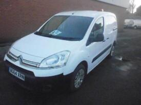 Citroen Berlingo L1 1.6 HDI 625 90ps DIESEL MANUAL WHITE (2014)