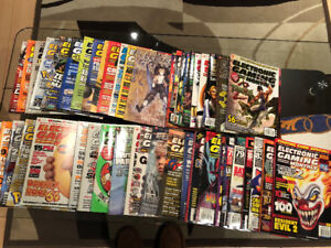Back Issues of Electronic Gaming Monthly