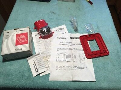 Spectralert System Sensor S2340 Strobe Fire Alarm