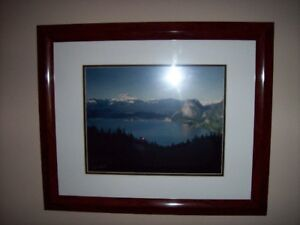 picture / photo framed of squamish