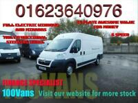 CITROEN RELAY 2.2HDi 130 HEAVY 35 L4H2 FULL ELECTRIC WINDOWS AND MIRRORS+MORE