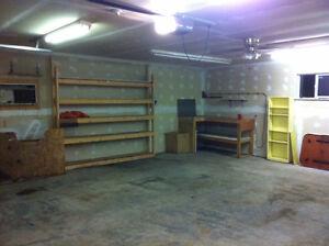 Great Garage Rental in River Heights 395$