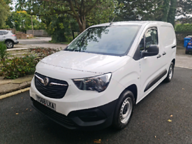 Vauxhall Combo L1H1 1.5 CDTi 2018 Panel Van Valeting Business