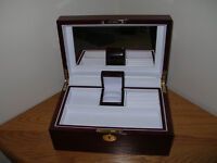 Gunther Mele Wooden Jewellery Box