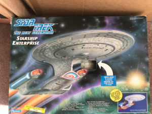Playmate Star Trek Ships with boxes.