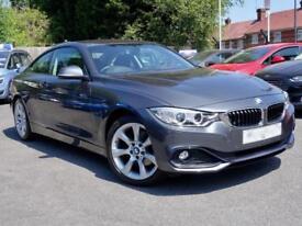 2014 64 BMW 4 SERIES 420D 181 XDRIVE SPORT Auto Grey Diesel