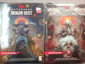 D&D Dragon Heist / Dungeon of the Mad Mage COMBO