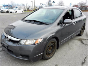 2010 CIVIC SPORT EX SEDAN ! AUTO GREAT KLMS READY FOR WINTER !