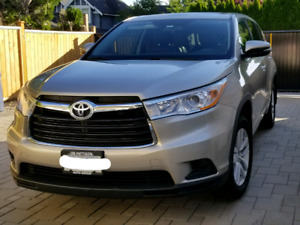 Great Deal! 2014 Toyota Highlander + Winter Tires