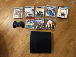 PS3 and Games - Good Condition