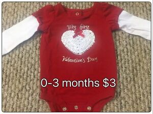 0-3 Months girls clothing
