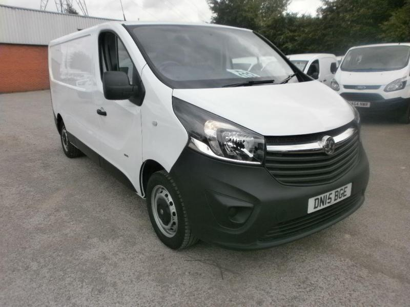 Vauxhall Vivaro L2 2900 1.6Cdti 115Ps H1 Van DIESEL MANUAL WHITE (2015)