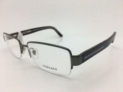 VERSACE 1151 1187 FRAMES EYE GLASSES 54-17-140 BROWN OLIVE GREEN NEW!!!