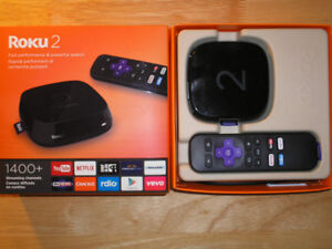 ROKU 2 STREAMING VIDEO PLAYER $65