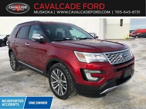 2016 Ford Explorer Platinum with leather, roof, nav!!