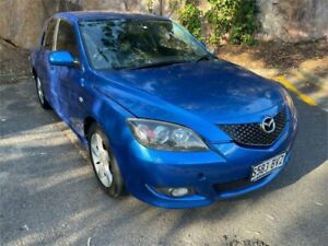 2004 Mazda 3 BK10F1 Maxx Blue 4 Speed Sports Automatic Hatchback Clare Clare Area Preview