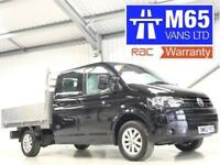 VW VOLKSWAGEN TRANSPORTER 4x4 PICKUP DROPSIDE 2.0TDi 140PS LWB 4MOTION T30 CREW