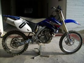 Yamaha YZF450 Motorcross Bike 2008
