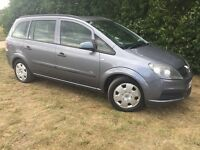 7 SEAT - 2006 VAUXHALL ZAFIRA - LONG MOT - CLEAN - RELIABLE
