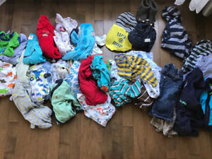 3-6 month warm boys clothes