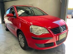 2007 Volkswagen Polo 9N MY2008 Match Red 6 Speed Sports Automatic Hatchback Boolaroo Lake Macquarie Area Preview