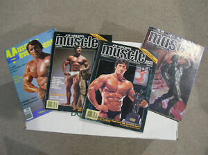 Muscle and Power and Muscular Development Magazines