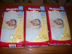 Huggies pour nouveau née moitié prix / half price